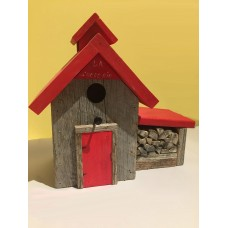 Barn Wood Nesting Box - The Sugar Shack