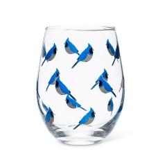 Verre à vin Geai bleu