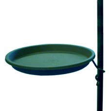 14'' Round Coil with Bird Bath for 1 inch Pole
