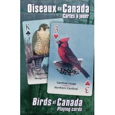 Jeu de cartes - Oiseaux du Canada