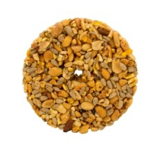 Nut wheel for suet feeder