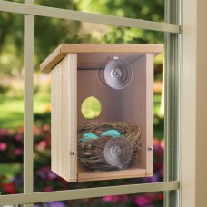 Nest View Bird House with Window Film