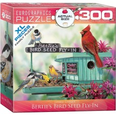 Puzzle 300 pieces - Bertie's Bird Seed Fly-In
