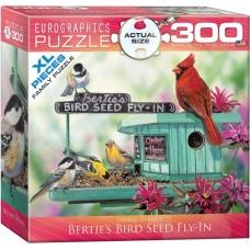Casse-tête 300 morceaux - Le restaurant pour oiseaux