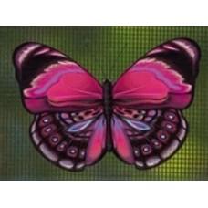 Protège-moustiquaire aimanté - Papillon rose