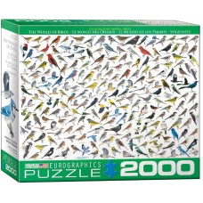 Puzzle 2000 pieces - World of Birds - Sibley