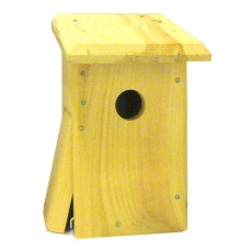 Swallow nesting box