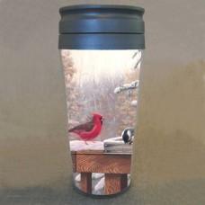 Tasse thermos oiseaux