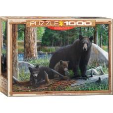 Casse-tête 1000 morceaux - 3 Ours