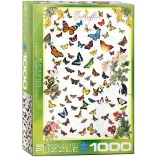 Casse-tête 1000 morceaux - Papillons