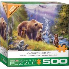 Casse-tête 500 morceaux - Grizzly
