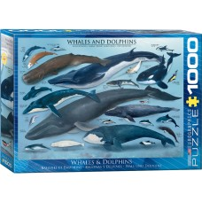 Casse-tête 1000 morceaux - Baleines et Dauphins