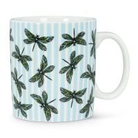 Tasse avec libellules
