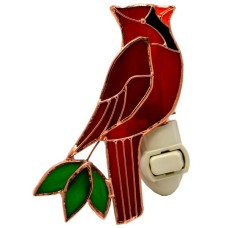 Veilleuse Cardinal Vitrail