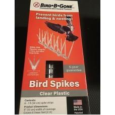 Pics anti-oiseaux en polycarbonate