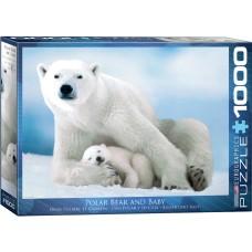 Casse-tête 1000 morceaux - Ours polaire
