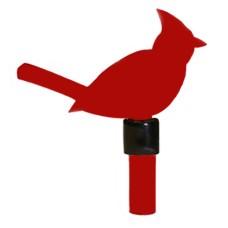 Finition cardinal pour poteau 1 pouce