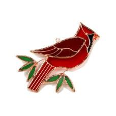 Vitrail cardinal